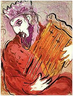 Marc Chagall, Psalmen