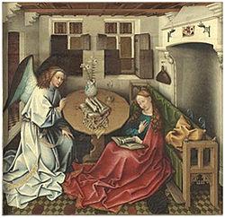 aankondiging - Jaques Daret (1400-1468)