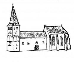 Gotisch koor aangebouwd