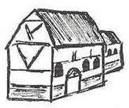 zalemkerkje omstreeks 1100